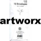 White DL 10pk Artwrap Envelopes