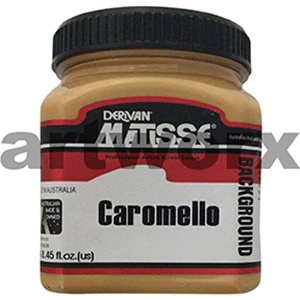 Caramello 250ml Background Acrylic Matisse Paint