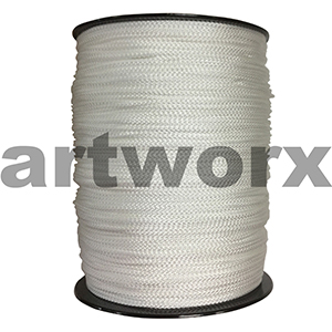 Picture Hanging Cord 500 metres 4mm Flat
