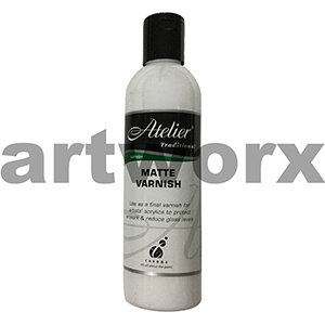 Matte Varnish 250ml Atelier Medium