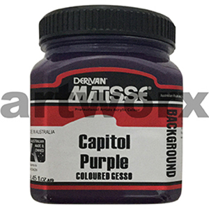 Capitiol Purple 250ml Background Acrylic Matisse Paint