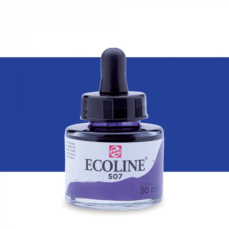 Ultramarine Violet Talens Ecoline Ink 30ml